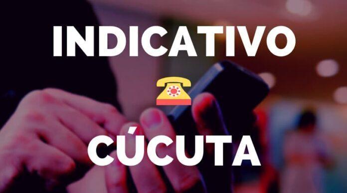 Indicativo Cúcuta