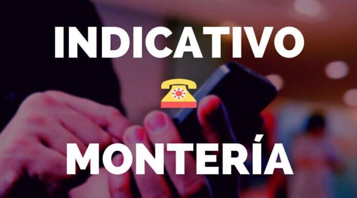 Indicativo Montería