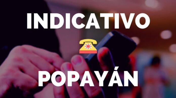 Indicativo Popayán