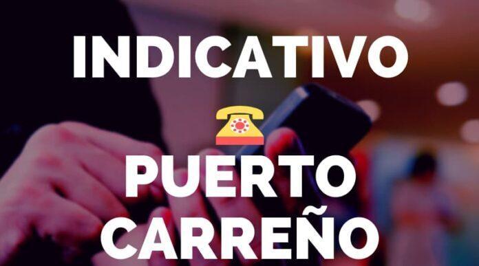 Indicativo Puerto Carreño