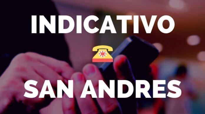 Indicativo San Andres
