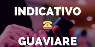Indicativo San José del Guaviare