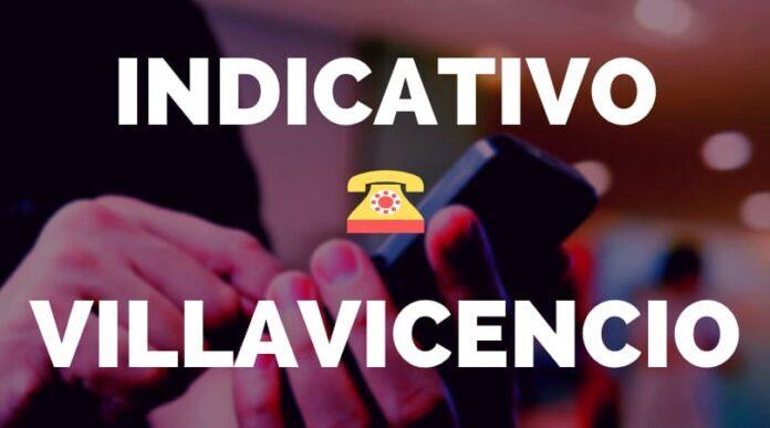 Indicativo Villavicencio