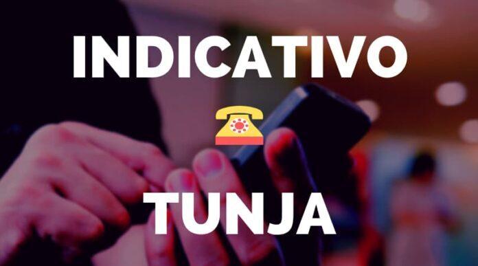 Indicativo tunja